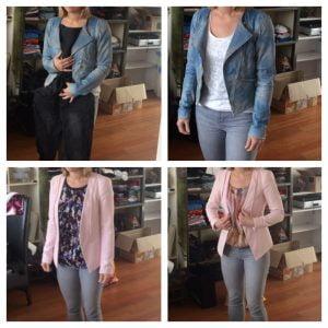 contrast in kleding
